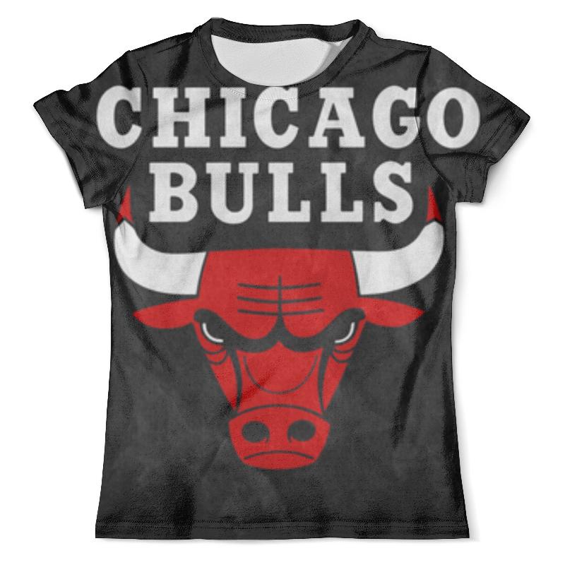 Футболка с полной запечаткой (мужская) Printio Chicago bulls