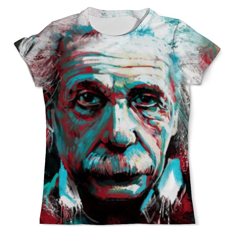 Футболка с полной запечаткой (мужская) Printio Альберт эйнштейн