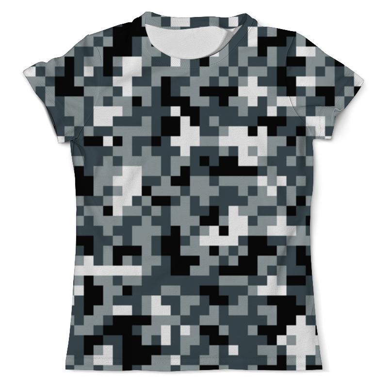 Футболка с полной запечаткой (мужская) Printio Urban camouflage xintown camouflage winter long sleeved