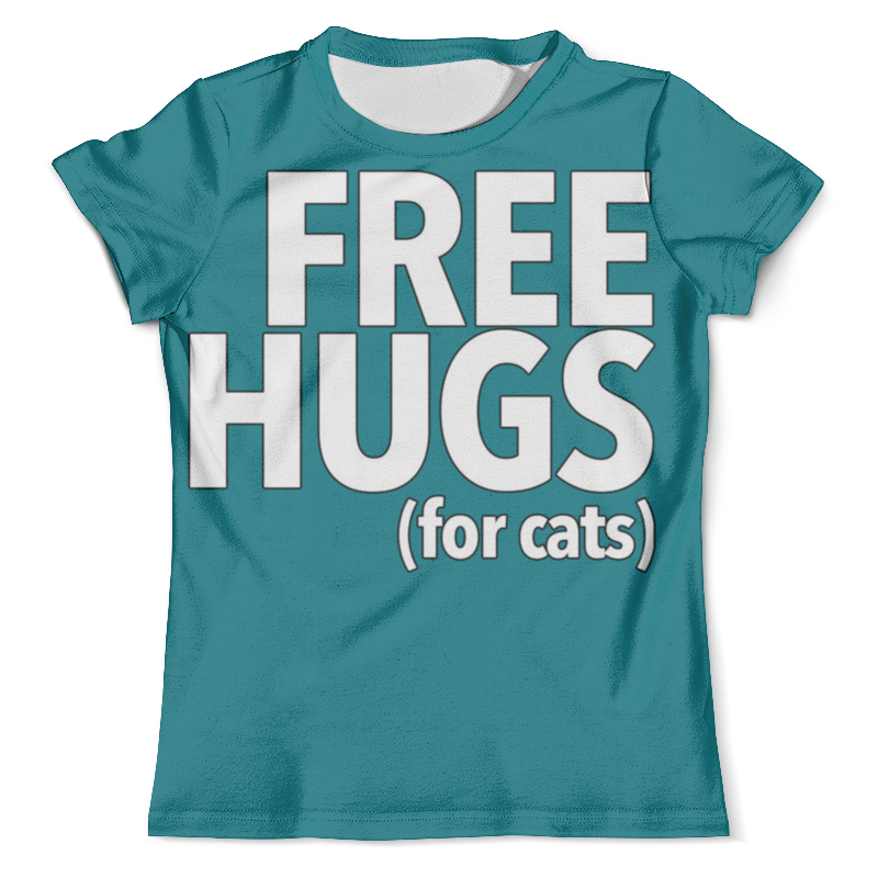 Футболка с полной запечаткой (мужская) Printio Free hugs