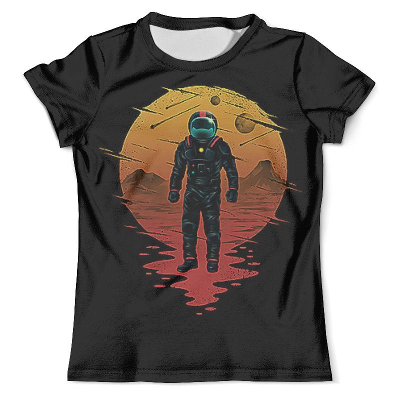 Printio Астронавт (1) футболка с полной запечаткой мужская printio westernskull 1