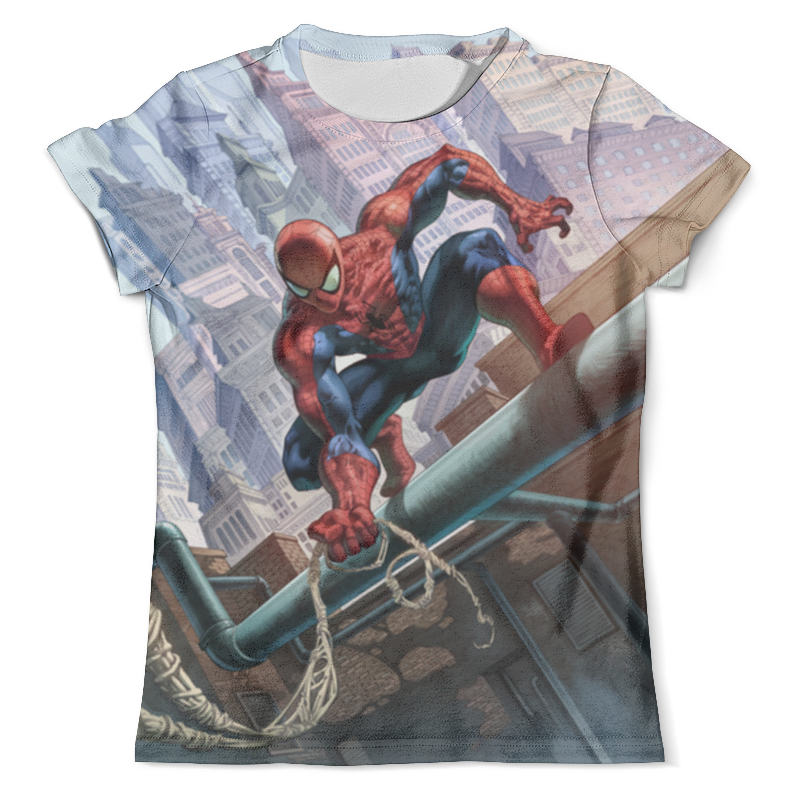 Футболка с полной запечаткой (мужская) Printio Spider-man футболка с полной запечаткой мужская printio old man saxophone
