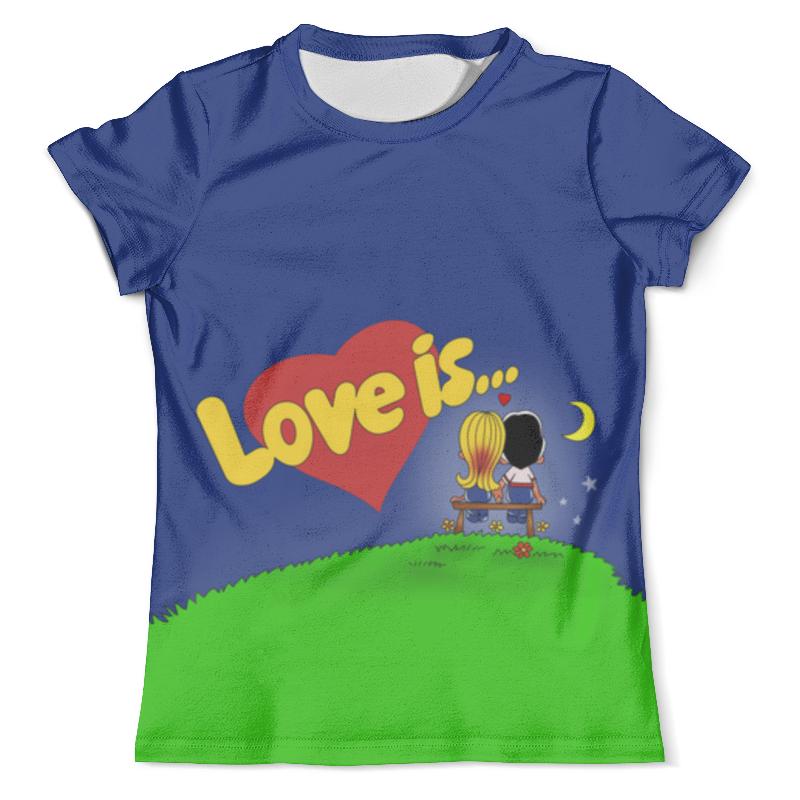 Футболка с полной запечаткой (мужская) Printio Love is...ночная романтика футболка с полной запечаткой мужская printio love is