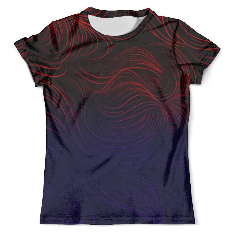 Футболка с полной запечаткой (мужская) Printio Цветные линии футболка с полной запечаткой женская printio линии