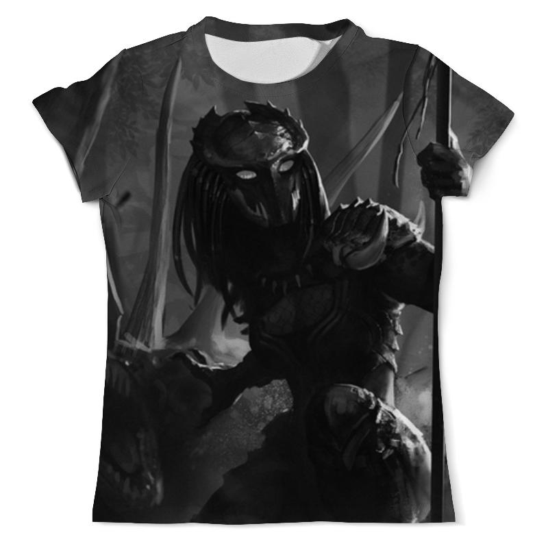 Футболка с полной запечаткой (мужская) Printio Хищник / predator футболка с полной запечаткой мужская printio хищники predator