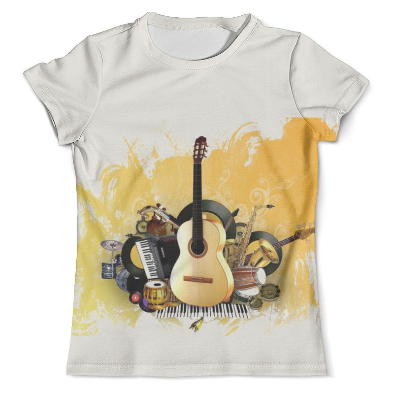 Футболка с полной запечаткой (мужская) Printio Музыкальные инструменты свитшот унисекс с полной запечаткой printio музыкальные инструменты