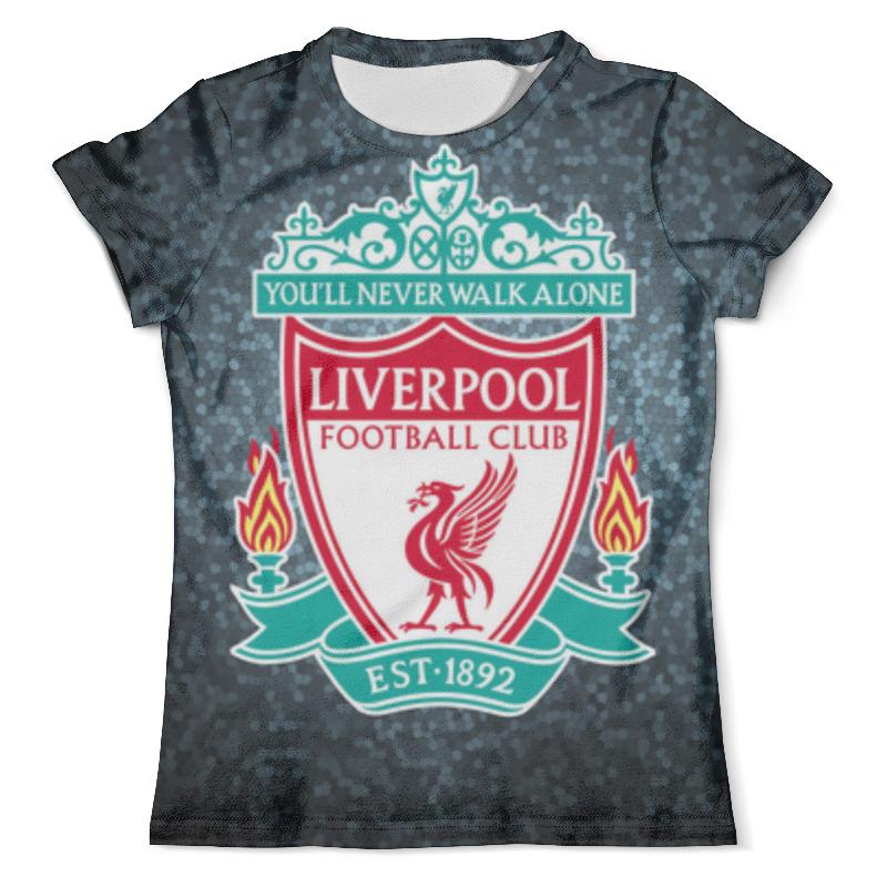 Фото - Футболка с полной запечаткой (мужская) Printio Liverpool (ливерпуль) футболка wearcraft premium slim fit printio liverpool ливерпуль