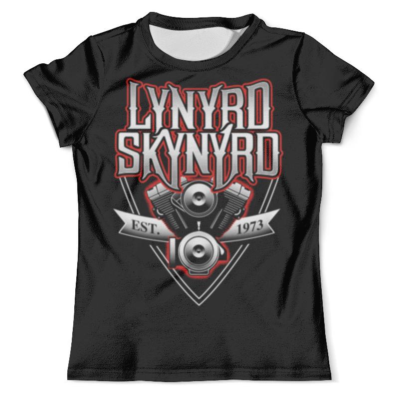 Футболка с полной запечаткой (мужская) Printio Lynyrd skynyrd lynyrd skynyrd lynyrd skynyrd pronounced leh nerd skin nerd