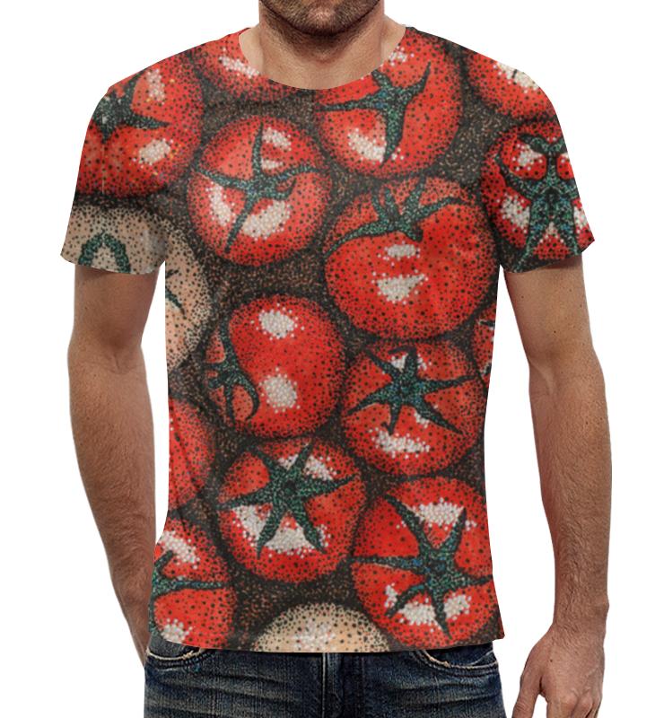 Футболка с полной запечаткой Printio Томаты томаты сортовые сливка