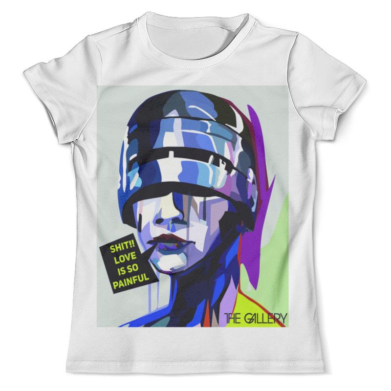 Футболка с полной запечаткой (мужская) Printio Поп-арт дизайн футболка с полной запечаткой мужская printio орел арт 1