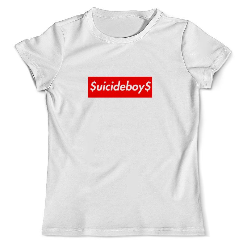 Футболка с полной запечаткой (мужская) Printio Suicideboys supreme футболка мужская supreme ny yankees supreme box tee