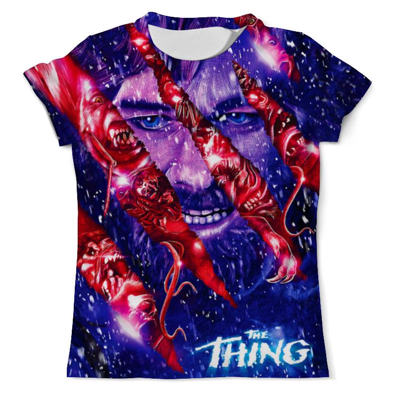 Printio The thing design футболка с полной запечаткой мужская printio the thing
