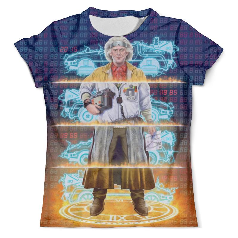 Футболка с полной запечаткой (мужская) Printio Back to the future (двусторонняя) футболка с полной запечаткой мужская printio to the rats and wolves