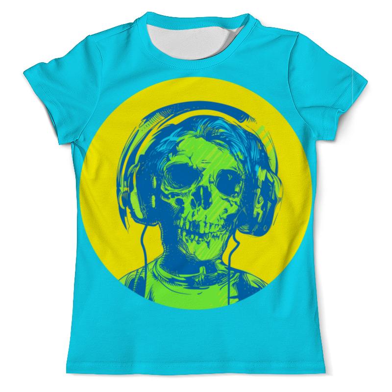 Printio I love music (череп в наушниках) недорого