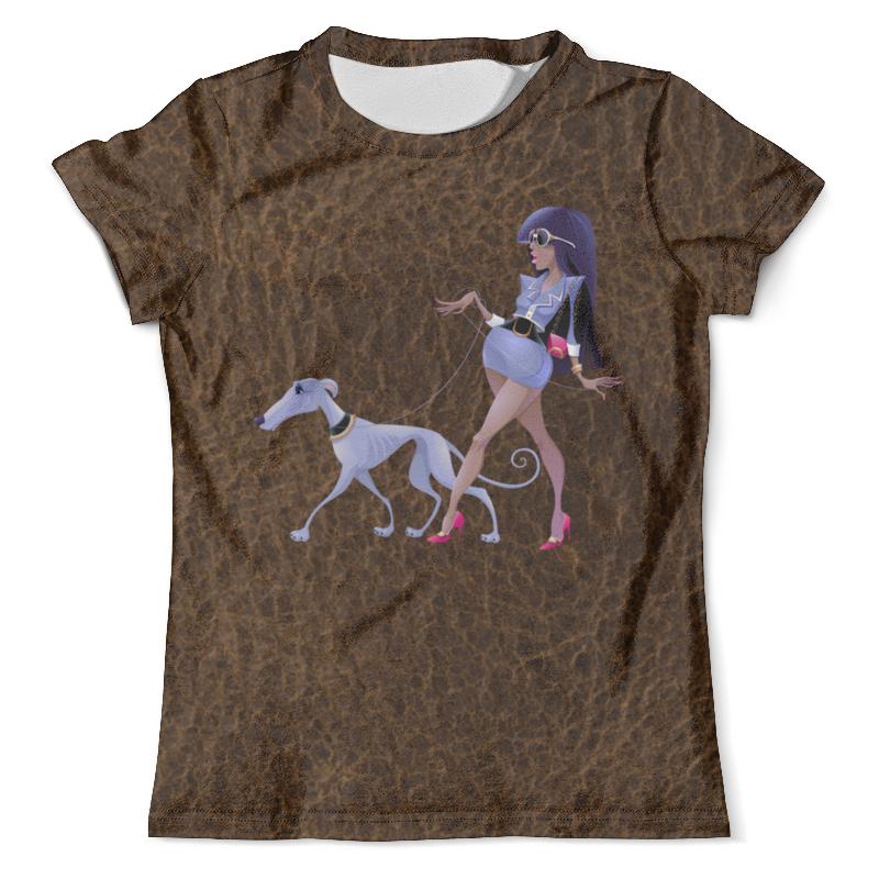 Футболка с полной запечаткой (мужская) Printio Леди с собакой футболка с полной запечаткой мужская printio battlefield v