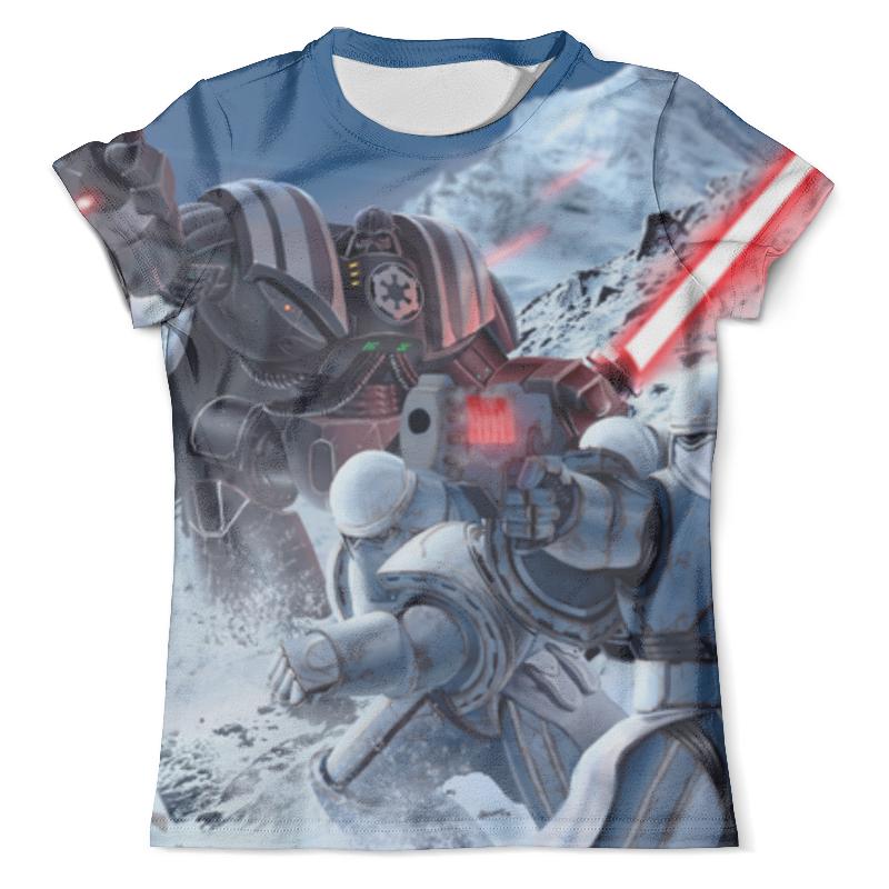 Футболка с полной запечаткой (мужская) Printio Звездные войны (star wars) футболка с полной запечаткой мужская printio starwars звездные войны