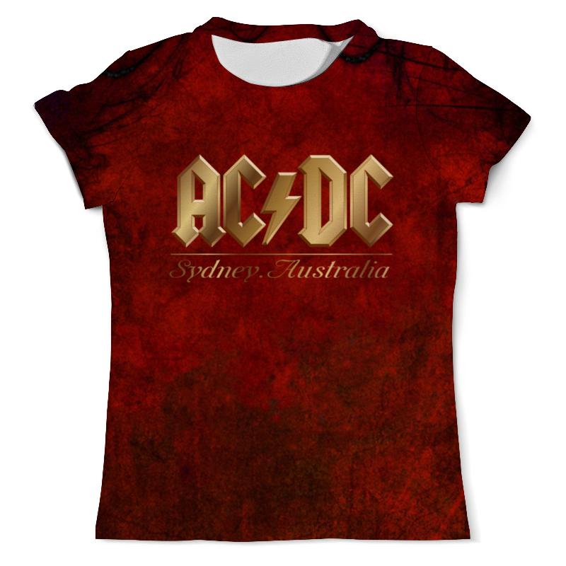 Футболка с полной запечаткой (мужская) Printio Ac/dc ac dc ac dc rock or bust