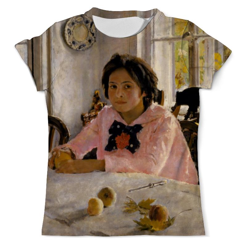 Футболка с полной запечаткой (мужская) Printio Девочка с персиками