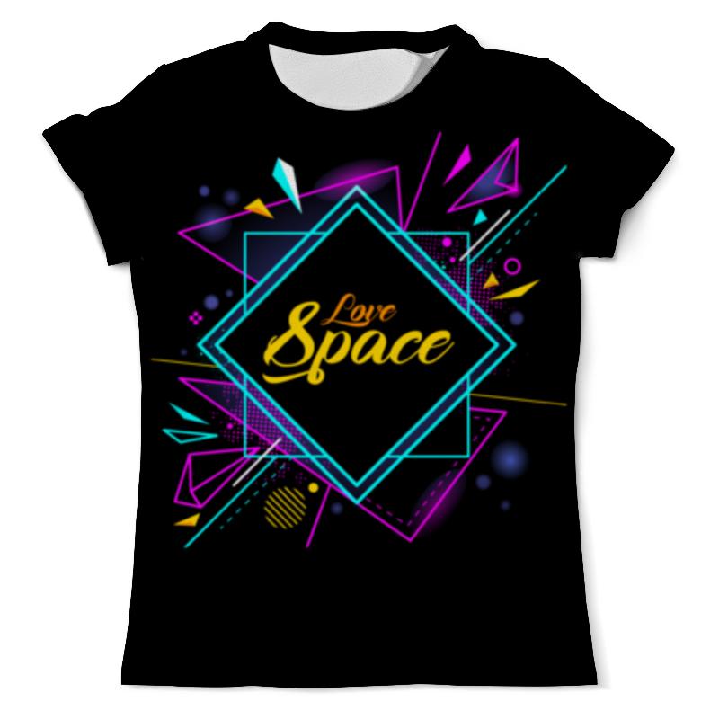 Футболка с полной запечаткой (мужская) Printio Love space футболка с полной запечаткой мужская printio космос space