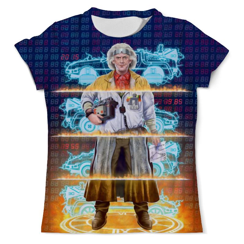 Футболка с полной запечаткой (мужская) Printio Back to the future футболка с полной запечаткой мужская printio back to the future двусторонняя 1