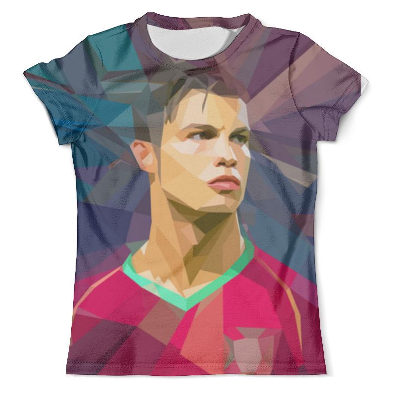 Футболка с полной запечаткой (мужская) Printio Футбольная мозайка криштиану роналду футболка криштиану роналду