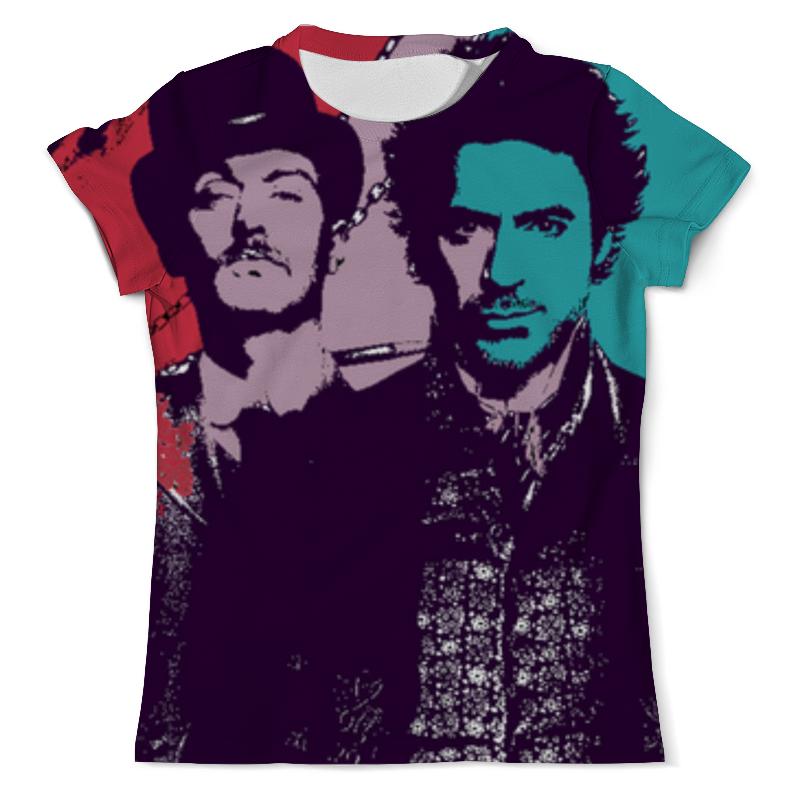 Printio Шерлок холмс (sherlock holmes) футболка с полной запечаткой мужская printio шерлок холмс