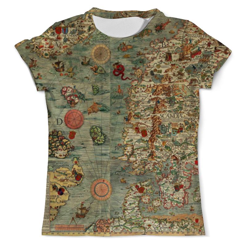 Футболка с полной запечаткой (мужская) Printio Old map футболка с полной запечаткой мужская printio old map page 4