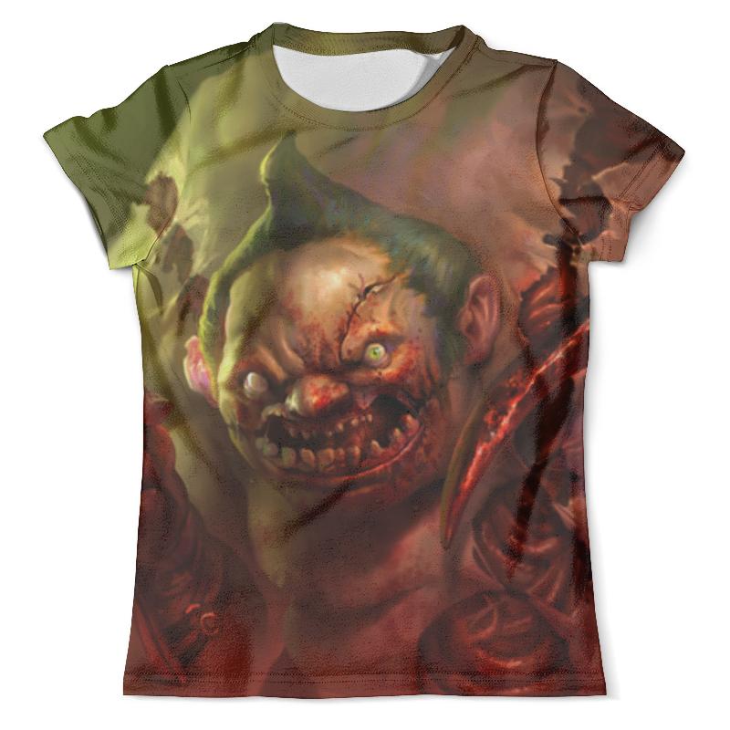 Футболка с полной запечаткой (мужская) Printio Пудж мясник (dota 2) футболка с полной запечаткой мужская printio shadow demon dota 2