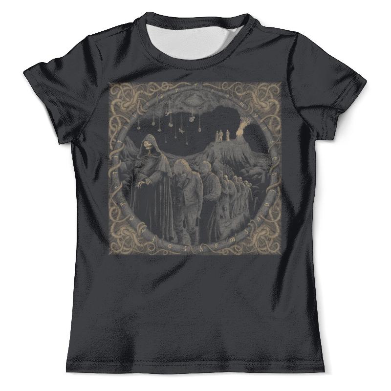 Футболка с полной запечаткой (мужская) Printio Black metal art metal mulisha футболка metal mulisha quartered black