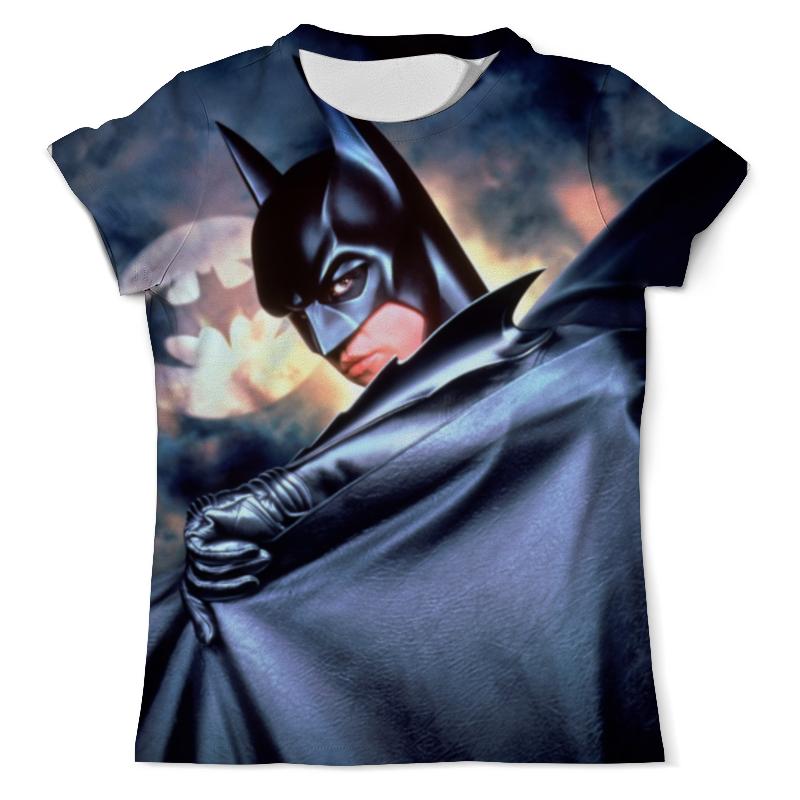 Футболка с полной запечаткой (мужская) Printio Batman & riddler футболка с полной запечаткой мужская printio batman gives you the finger