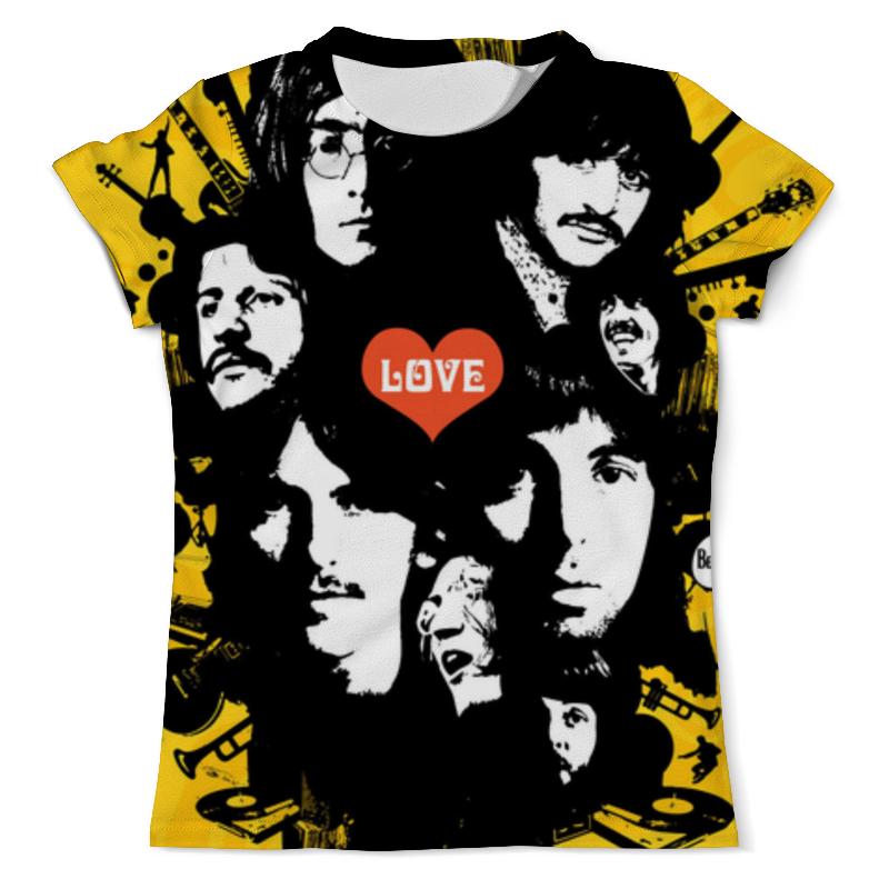 Printio Beatles футболка с полной запечаткой мужская printio the beatles 1