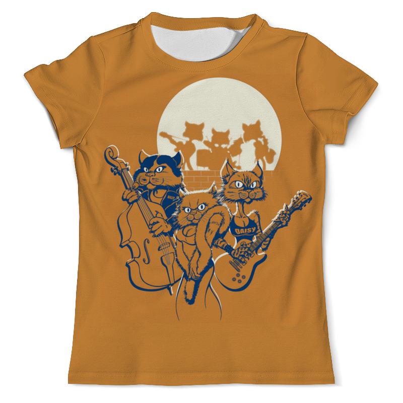 Футболка с полной запечаткой (мужская) Printio Кошачий концерт футболка с полной запечаткой женская printio кошачий концерт