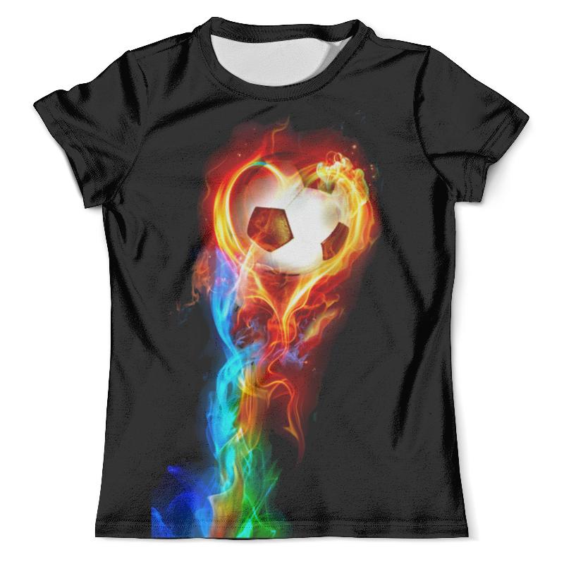Футболка с полной запечаткой (мужская) Printio Огненный мяч футболка с полной запечаткой мужская printio огненный дракон