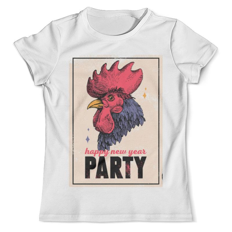 Футболка с полной запечаткой (мужская) Printio Новогодняя вечеринка футболка это моя вечеринка