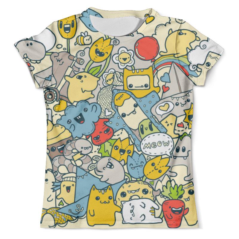 Футболка с полной запечаткой (мужская) Printio Spring in color футболка мужская ling feng color lf6651 lfcolor