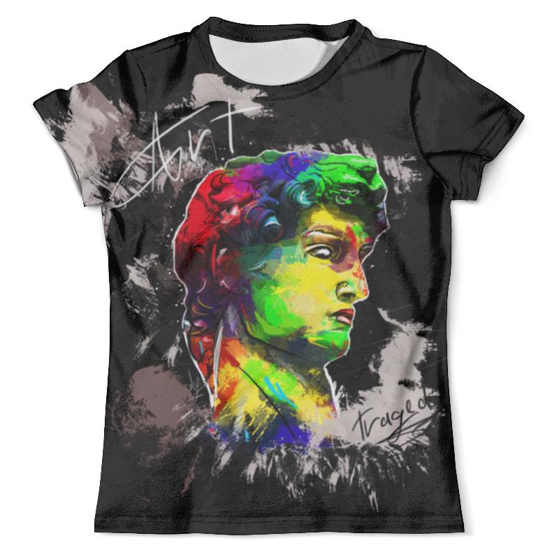 Футболка с полной запечаткой (мужская) Printio Давид футболка с полной запечаткой мужская printio фрактальная эзотерика мандалы