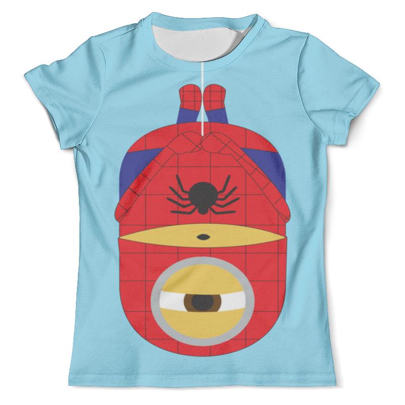 Футболка с полной запечаткой (мужская) Printio Человек паук-миньон академия групп пенал человек паук