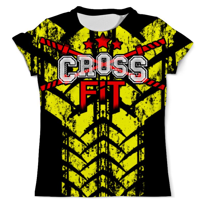 Футболка с полной запечаткой (мужская) Printio Crossfit скакалка скоростная proxima crossfit jr 7001 r red