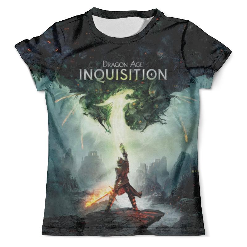 Футболка с полной запечаткой (мужская) Printio Dragon age inquisition футболка с полной запечаткой для мальчиков printio dragon age inquisition