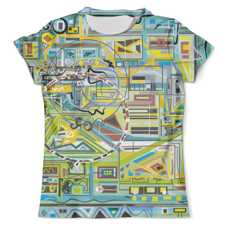 Футболка с полной запечаткой (мужская) Printio Березка футболка с полной запечаткой мужская printio фрактальная эзотерика мандалы