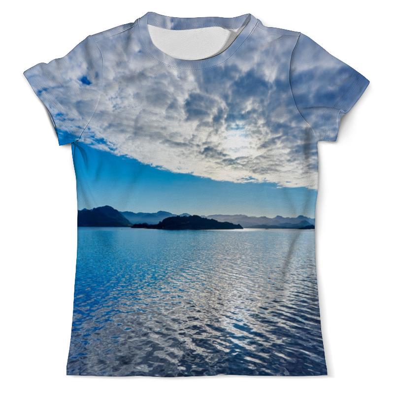 футболка с полной запечаткой для мальчиков printio остров в море Футболка с полной запечаткой (мужская) Printio Остров в море