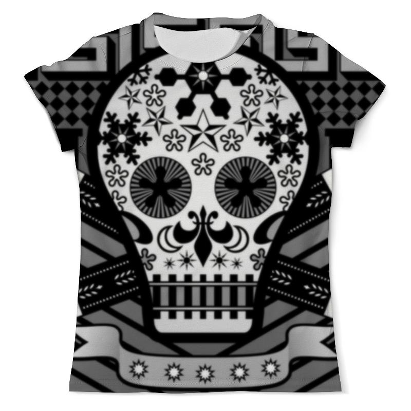 Футболка с полной запечаткой (мужская) Printio Череп (skull) футболка с полной запечаткой мужская printio skull triangle