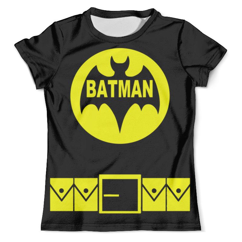 Футболка с полной запечаткой (мужская) Printio Бэтмен ( batman ) футболка с полной запечаткой для девочек printio batman x joker бэтмен