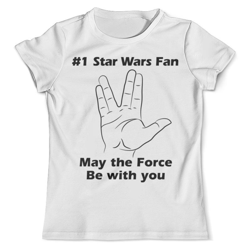 Футболка с полной запечаткой (мужская) Printio Звёздный путь ( star trek ) футболка с полной запечаткой для девочек printio star trek