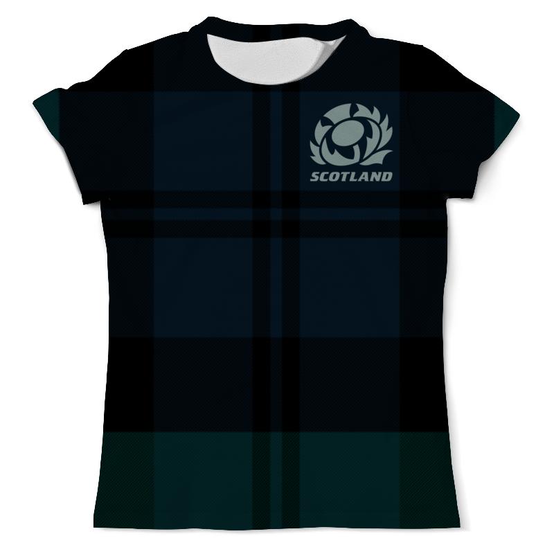 Printio Шотландия регби свитшот мужской с полной запечаткой printio шотландия регби