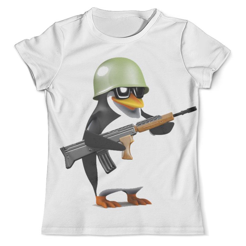 Футболка с полной запечаткой (мужская) Printio Пингвины атакуют футболка с полной запечаткой для мальчиков printio пингвины