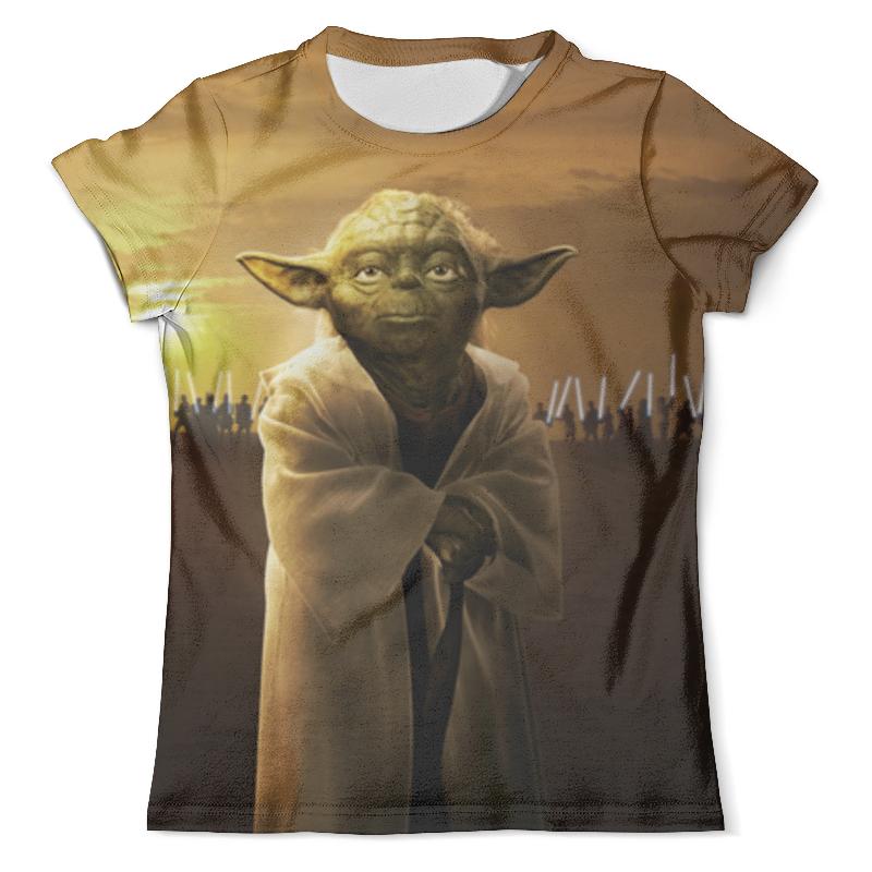 Футболка с полной запечаткой (мужская) Printio Звездные войны - йода футболка стрэйч printio йода звездные войны