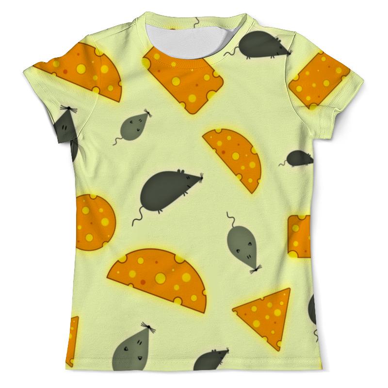 Футболка с полной запечаткой (мужская) Printio Мышь и сыр футболка с полной запечаткой для девочек printio мышь и сыр