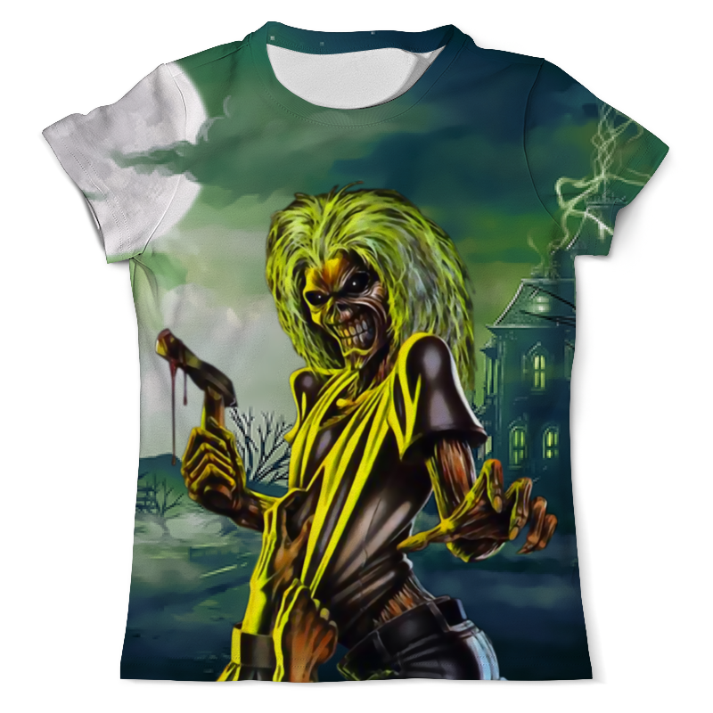Футболка с полной запечаткой (мужская) Printio Iron maiden футболка с полной запечаткой мужская printio iron maiden