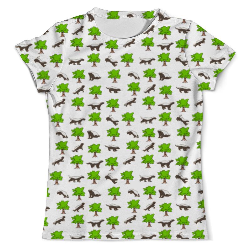 Printio Barsuk футболка с полной запечаткой мужская printio андроид